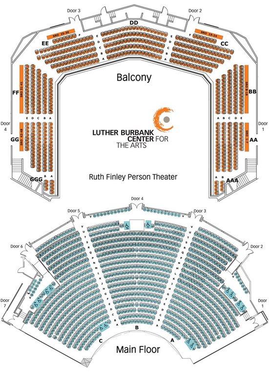 Seating Maps Santa Rosa Symphony